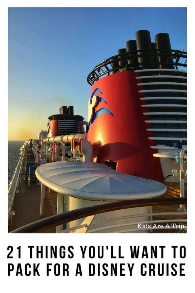 It can be overwhelming when you start planning for a Disney Cruise, but knowing some of the essential items you'll need to bring can make the trip easier. Use our Disney Cruise packing list and bring only the essentials you really need for your vacation.-Kids Are A Trip