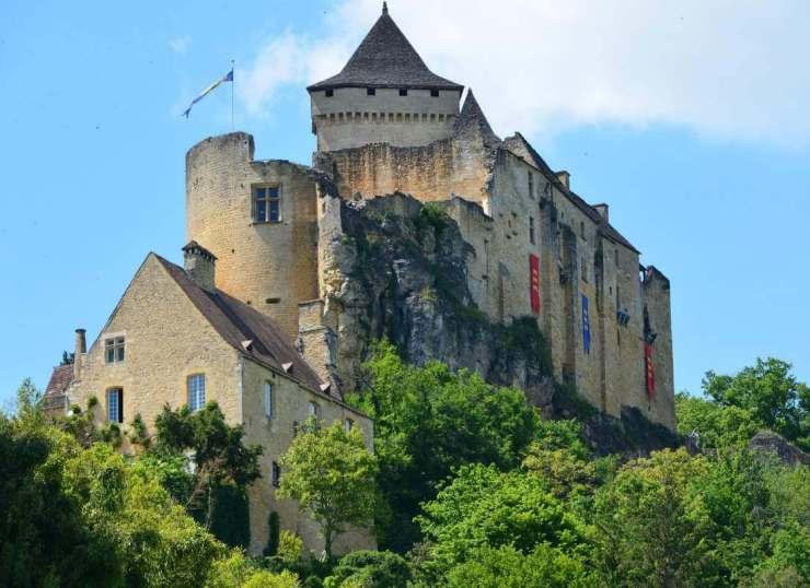 Chateau de Castelnaud Castles in France-Kids Are A Trip