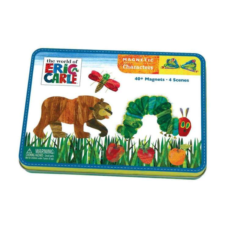 Activities for Kids on a Road Trip Eric Carle Magnetic Tin-Kids Are A Trip