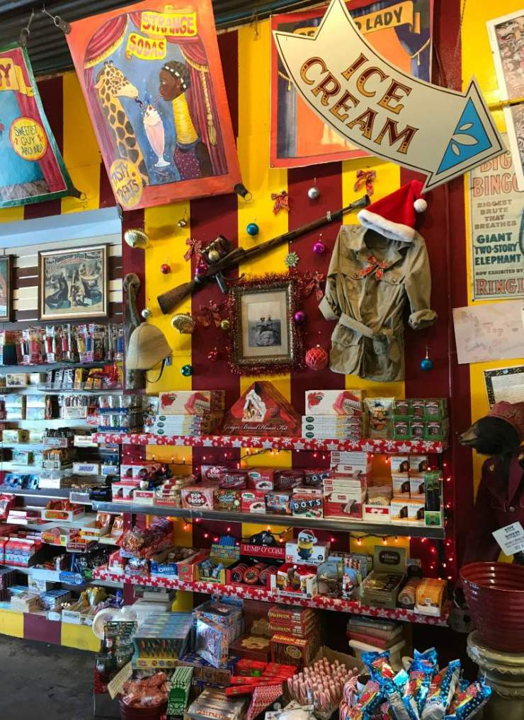 Weekend in Austin with Kids Big Top Candy Shop-Kids Are A Trip