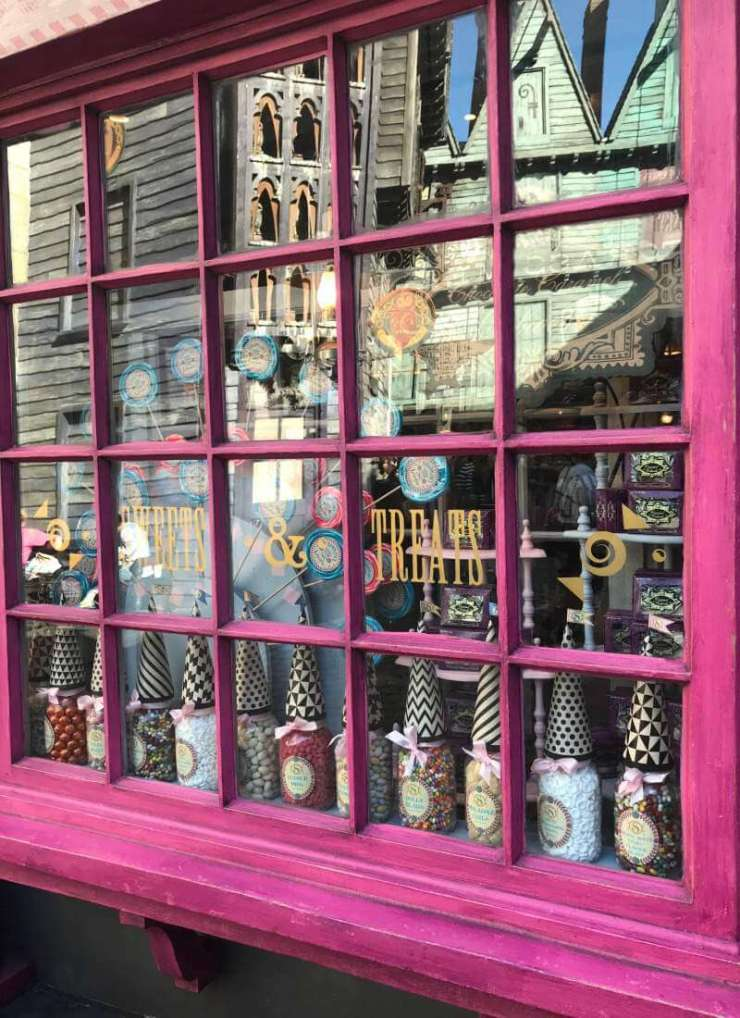 Things to Do in Orlando Harry Potter Honeydukes Candy Store-Kids Are A Trip