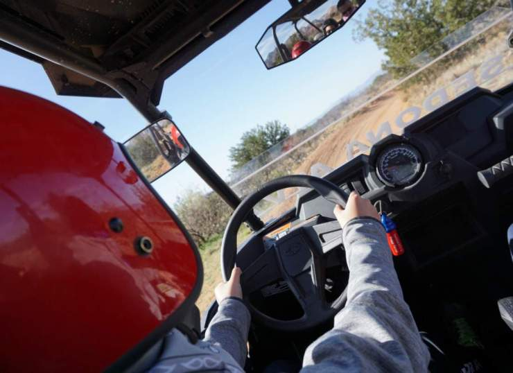 Things to Do in Sedona with Kids ATV riding-Kids Are A Trip