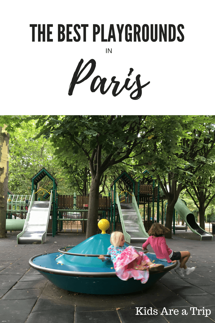 If you're visiting Paris, don't fill your days with all of the tourist destinations. Make time to slow down and enjoy the playgrounds in Paris. These are our favorites! - Kids Are A Trip