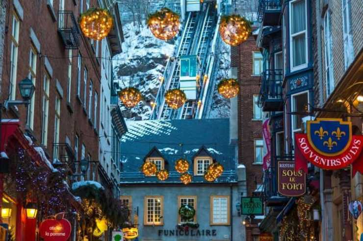 Quebec City at Christmas-Kids Are A Trip