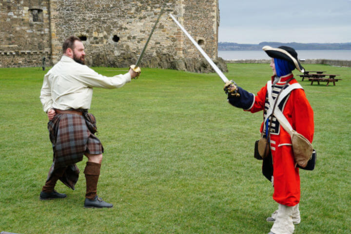 Sword Fighting Highlander Tours Scotland-Kids Are A Trip