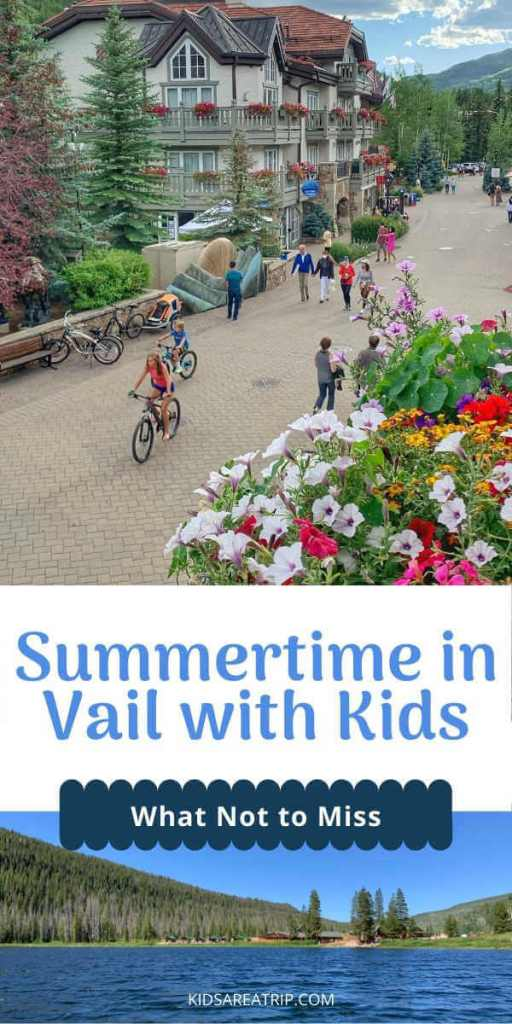 Summer in Vail with Kids-Kids Are A Trip