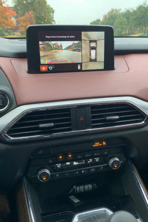 360 camera view Mazda CX9