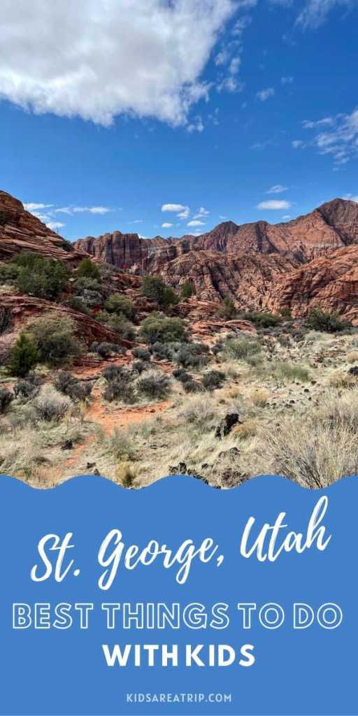 Best Things to Do in St George Utah with Kids