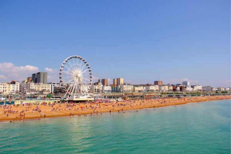 Brighton Beach Boardwalk UK