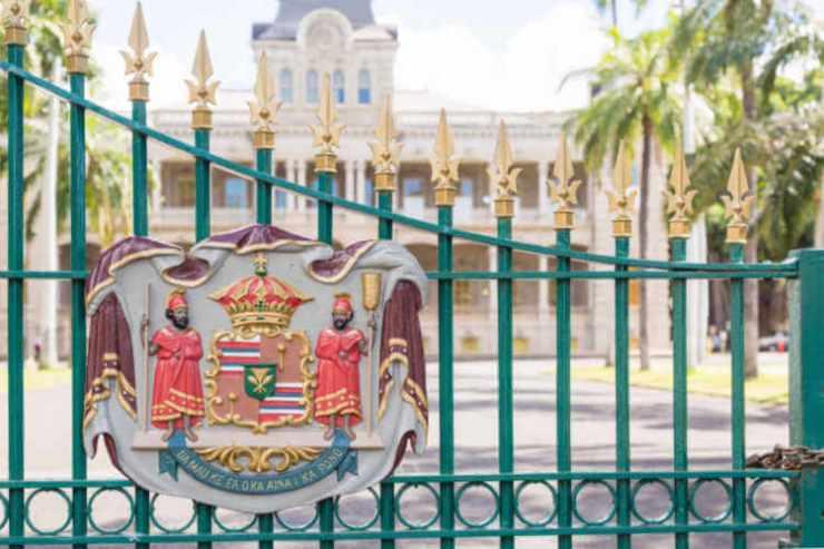 Iolani Palace on Oahu
