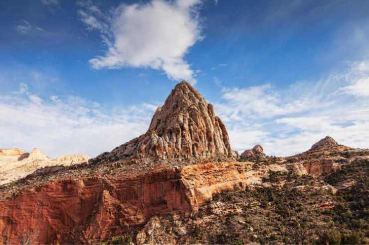 Capitol Reef National Park Capitol Dome-Kids Are A Trip