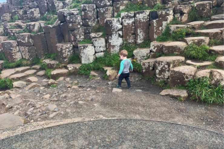 Giant's Causeway- Toddling Traveler - Amanda Emmerling