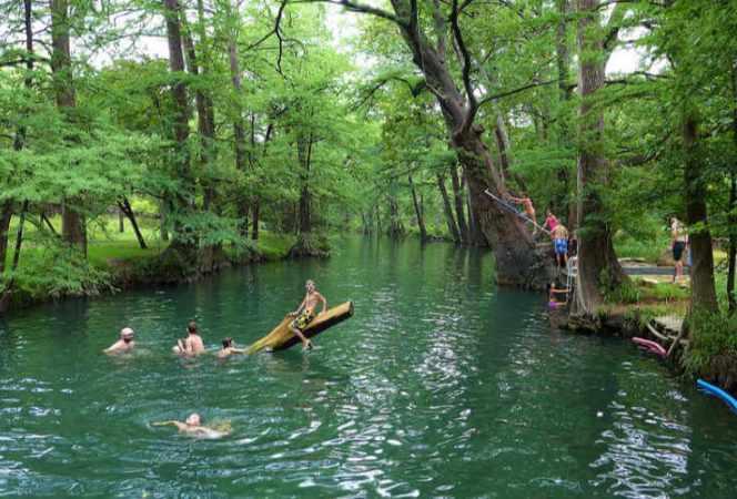 Blue Hole Wimberley Texas