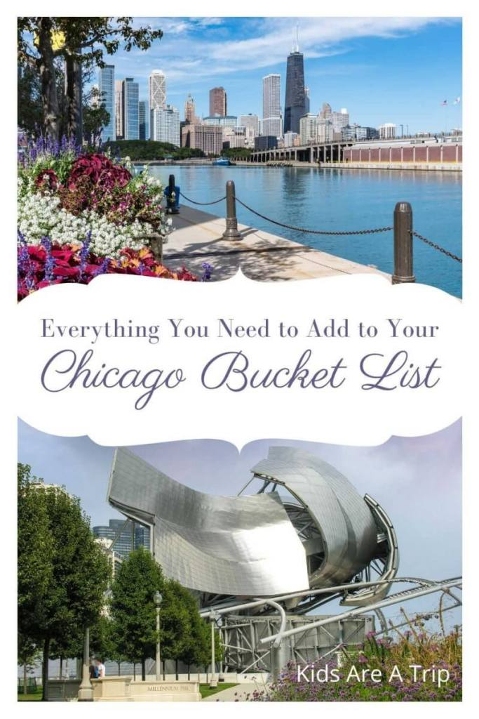 Everything You Need on a Chicago Bucket List-Kids Are A Trip