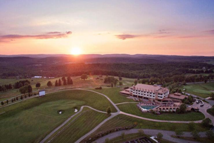 Nemacolin Woodlands Resort Farmington Pennsylvania mountain getaway