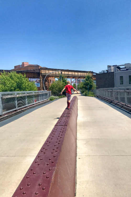 Walking 606 Trail Chicago-Kids Are A Trip