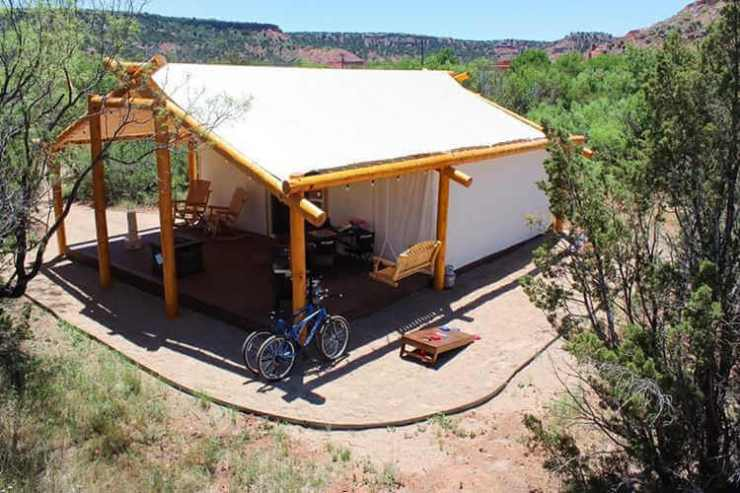 Palo Duro Glamping Texas-Kids Are A Trip