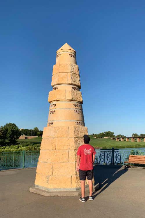 Red River Memorial North Dakota-Kids Are A Trip