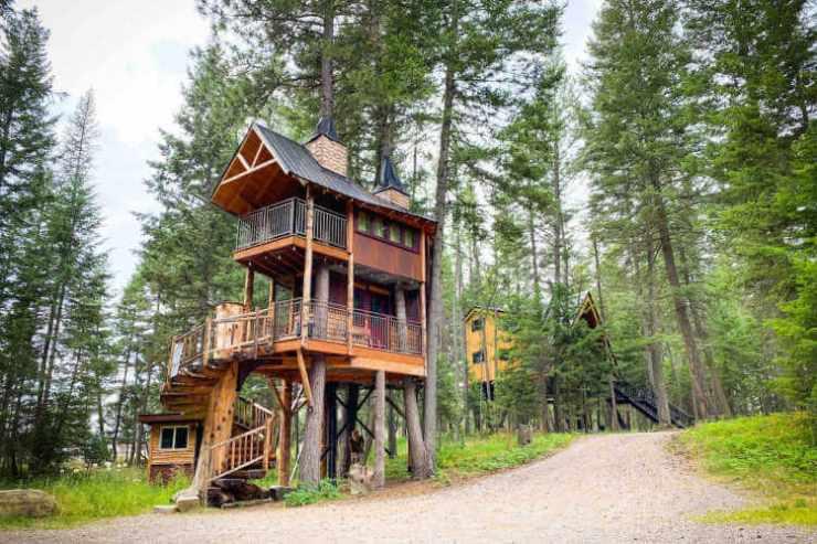 Meadowlark Treehouse Montana-Kids Are A Trip