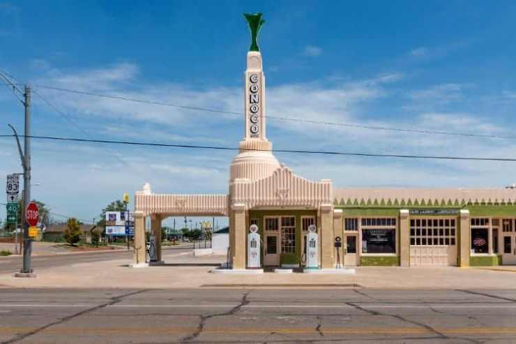 U Drop Inn Shamrock Texas-Kids Are A Trip