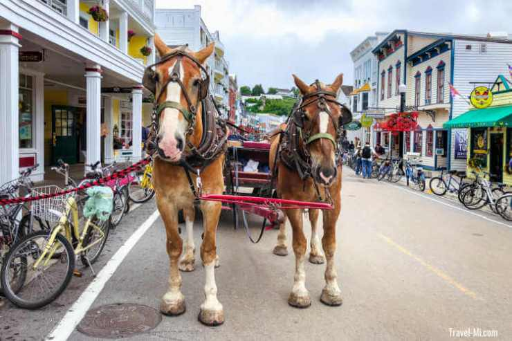 Main-Street-Travel-Mackinac Island Michigan