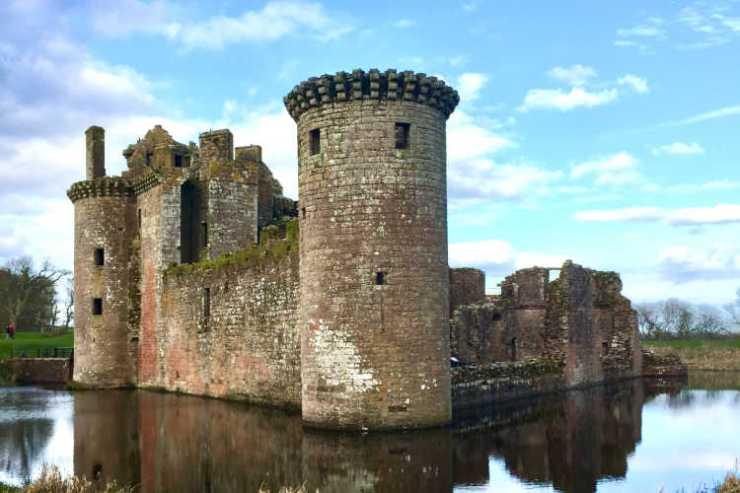 Caerlaverock Castle Maxwell Scotland