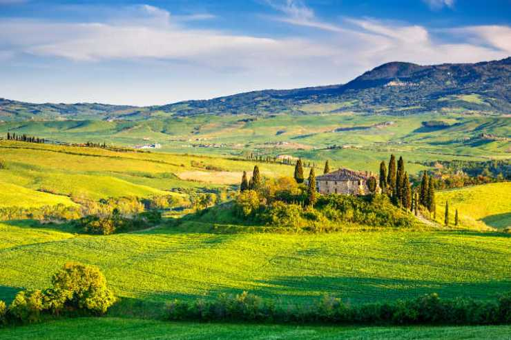 Tuscany farm stay