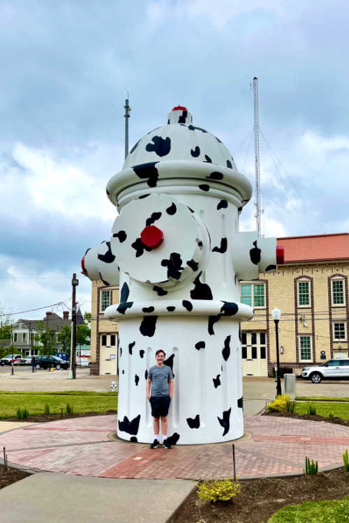 Beaumont fire hydrant and museum