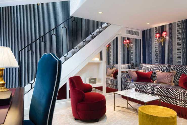 Relais Christine suite Paris for families