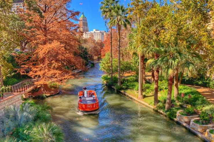 San Antonio Riverwalk fall