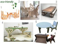 eco-friendly tables and chairs