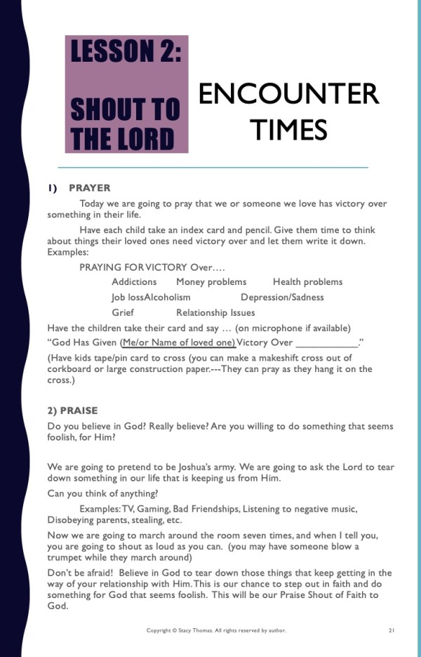 Encounter Times 1-L2 Praise