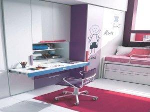 La scrivania nellarmadio Ghost by Dielle  Arredo Mamma
