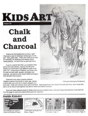 KidsArt Chalk and Charcoal