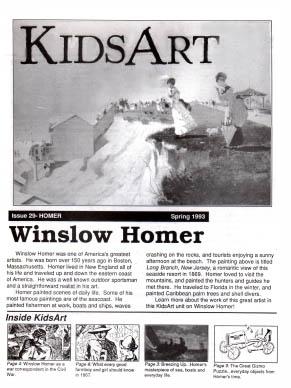 KidsArt Homer
