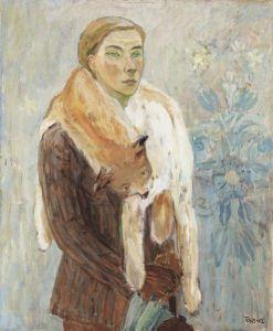 tove-jansson-lynx-boa-a-self-portrait