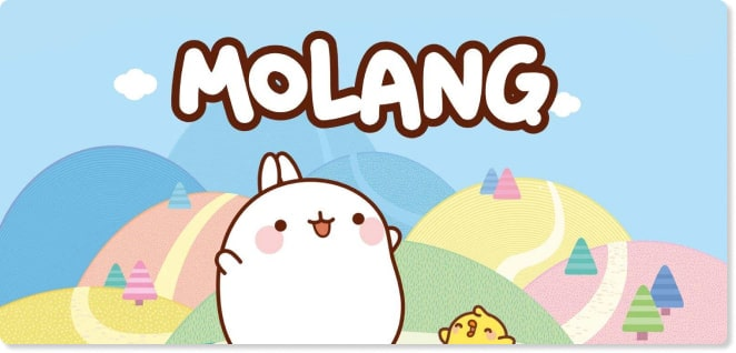 Molang | Slider image for Kids TV Shows, Best Cartoons for kids, baby songs, stories, arts and crafts, edutainment | utube