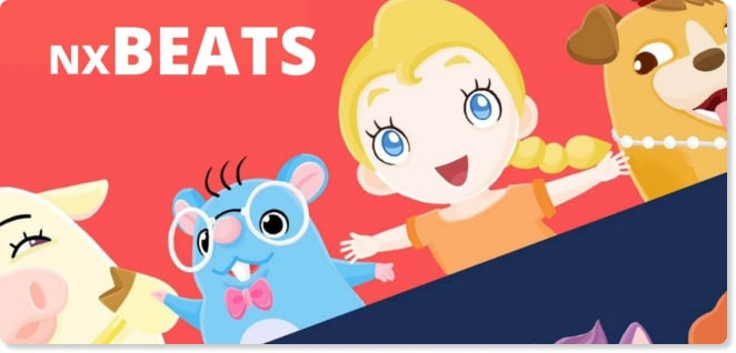 NX Beats | Slider image for Kids TV Shows, Best Cartoons for kids, baby songs, stories, arts and crafts, edutainment | utube