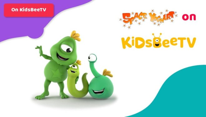 Featured image   Blog Article   Space Yoghurt kids comedy show strikes deal with KidsBeeTV   safe videos for kids   outer space cartoon