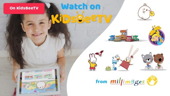 Featured Image Blog article   KidsBeeTV deal with Millimages   Utube kids alternative   Parents and Kids Blog   molang   64 Zoo Lane   Mouk and Chavapa   Louie Cartoon   kiddie shows