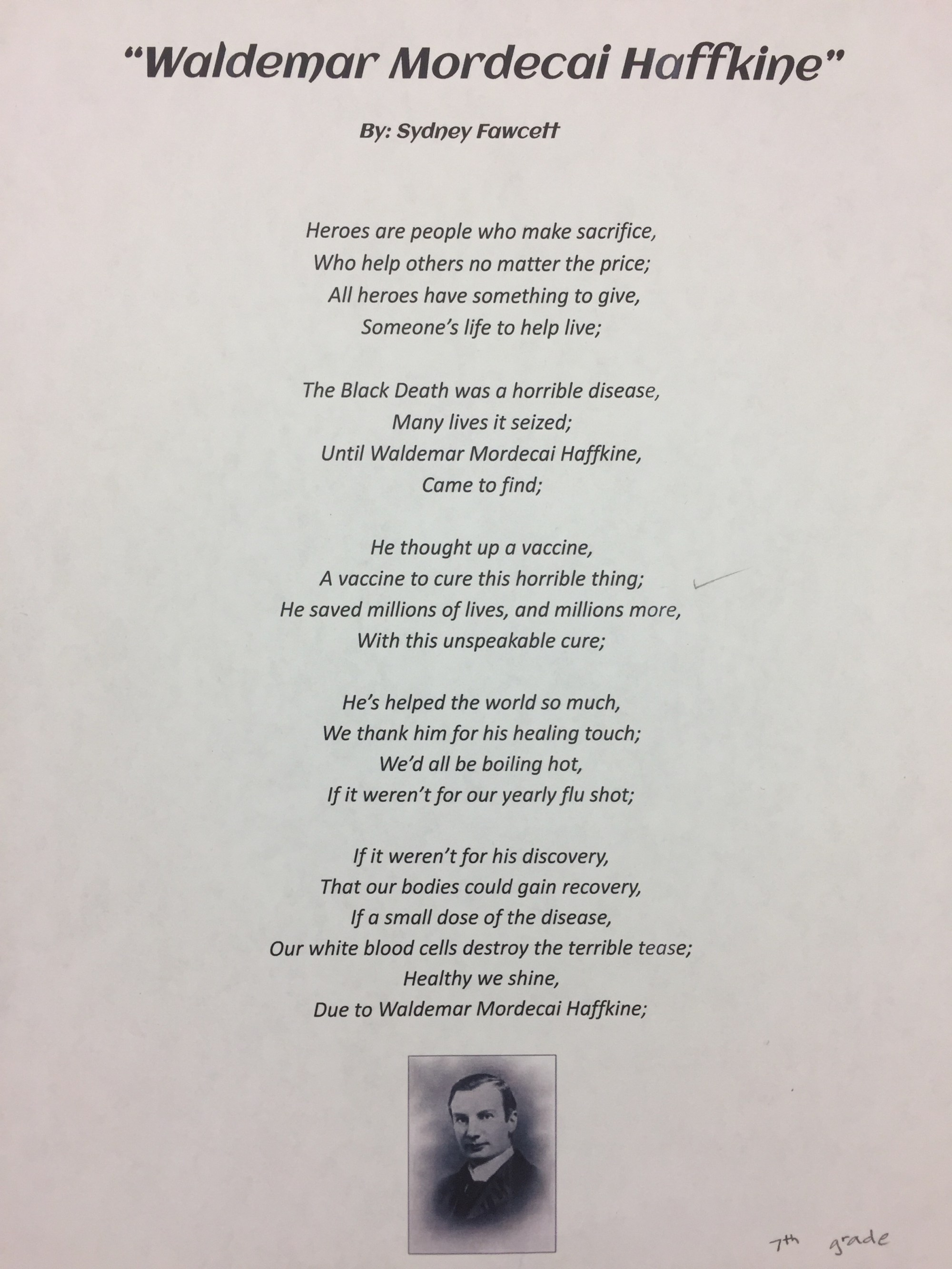 hight resolution of Poetry Lessons: Hero Poems