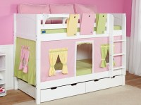 Kids Bunk Bed Ideas for Small Rooms by Kim Kardashian