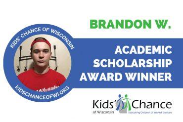 kidschanceofwisconsin-scholarship-award-brandon-W