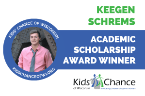 kidschanceofwisconsin-scholarship-award-keegen-schrems