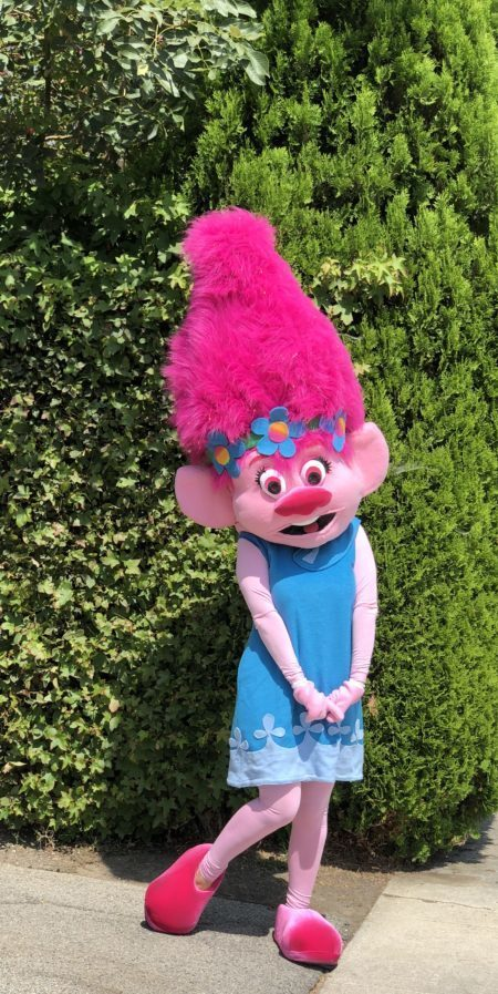Princess Poppy Mascot