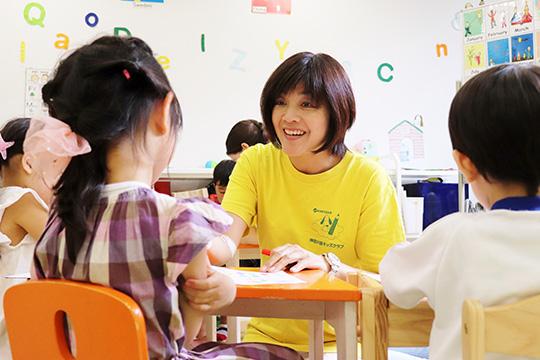 講座修了後に児童英語の先生として活躍中の修了生多数