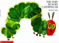 The Hungry Caterpillar book cover - ink to story resources page