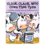 Click Clack Moo story resources page Kids Club english