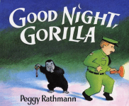 Goodnight Gorilla book cover - link to story resources page