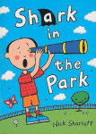 Shark in the Park book cover - shark in the park resources on kids club english